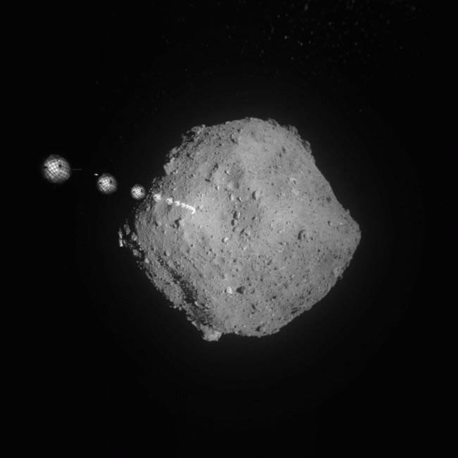 Работы возле астероида Рюга продолжаются